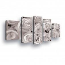 """Fotodrobė """"Baltos rožės"""""""