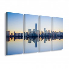 "Photo canva ""Manhattan Mirror"""