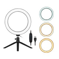 LED Ring Light with Tripod Stand