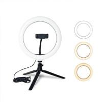 LED light ring for selfie photography