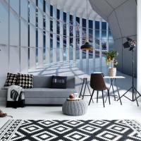 "Photo wallpaper ""Spaceship 3D Modern Architecture View"""