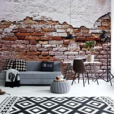 "Photo wallpaper ""Grunge Brick Wall"""