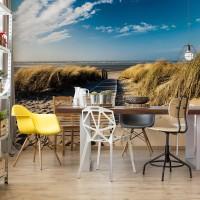 "Photo wallpaper ""Beach Walkway Coastal Sand Dunes"""