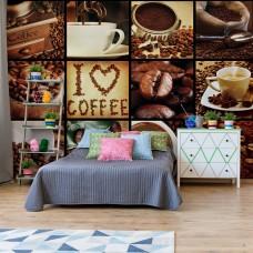 "Photo wallpaper ""Love Coffee"""