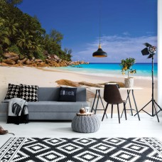 "Photo wallpaper ""Sunny Island Beach"""