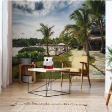 "Photo wallpaper ""Tropical Palms"""