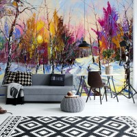 "Photo wallpaper ""Winter"""