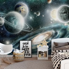 """Photo wallpaper """"Planets in space"""""""