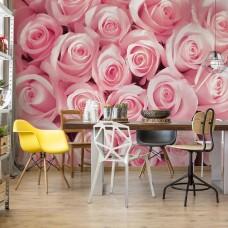 "Photo wallpaper ""Pink Roses"""