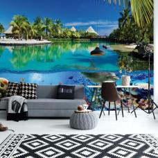 "Photo wallpaper ""Tropical Island paradise"""