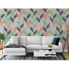 "Wallpaper ""Herringbone""- 6 colors"