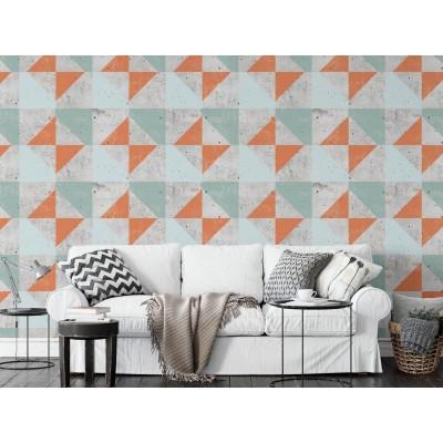 "Wallpaper ""Square"" - 6 colors"