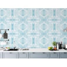 "Wallpaper ""Marbled Paper Blue"""