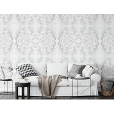 """Wallpaper """"Marbled Paper Grey"""""""