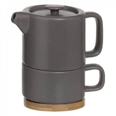 """Arbatinukas, puodelis, padėkliukas """"Secret de Gourmet®"""""""