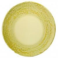 """Lėkštė """"LA MEDITERRANEA"""" pokščia, dekoruotas porcelianas, 26 cm"""