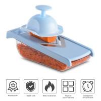 Manual vegetable chopper. kitchen cutting machine