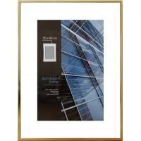 Aliuminis rėmelis (aukso)  30x40