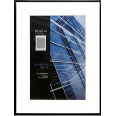 Aliuminis rėmelis (juodas)  30x40