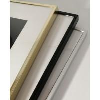 Aluminum frame (silver, gold, black)