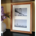Collage photo frame -  brown 2 10x15 photo