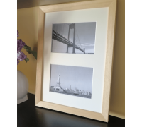 Collage photo frame  -  light 2 10x15 photo