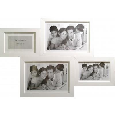 Nuotraukų rėmelių galerija 54x39,5 (balta)