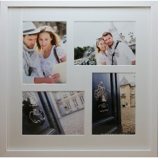 """Koliažas - nuotraukų rėmelis kelioms nuotraukoms """"Travel"""" (baltas)"""