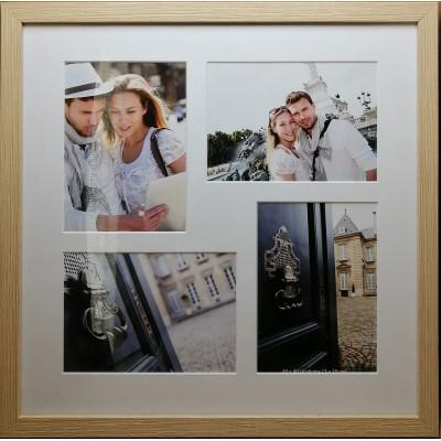 """Koliažas - nuotraukų rėmelis kelioms nuotraukoms """"Travel"""" (smėlio)"""