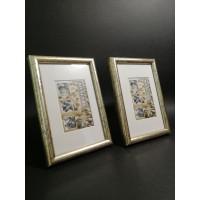 Photo frame (round) set - 2 pcs. 10x15
