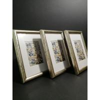 Photo frame (round) set - 3 pcs. 10x15