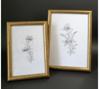 Photo frame (round size mix) set - 2 pcs. 10x15 13x18