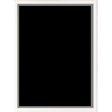 Foto rėmelis medinis (rėmas 13x11 mm) 30x40 (baltas)