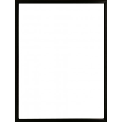 Foto rėmelis medinis (rėmas 13x11 mm) 30x40 (juodas)