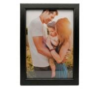 "Wooden photo frame ""Amzona"" - black"