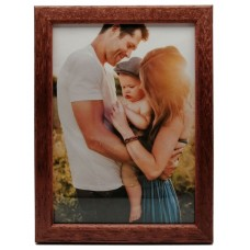 "Wooden photo frame ""Amzona"" - brown"