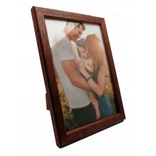 Medinis foto rėmelis 10x15 (smėlio, rudas)