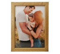 Wooden photo frame - light