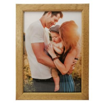 Wooden photo frame - light