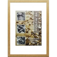 Wooden photo frame A4