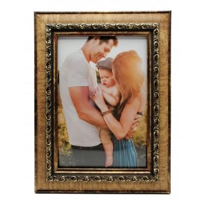 Plastic photo frame - vintage