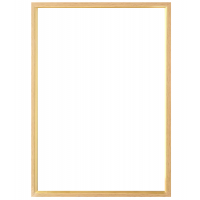 Plastikinis foto rėmelis - su blizgia juoste 30x40 (smėlio, ruda)