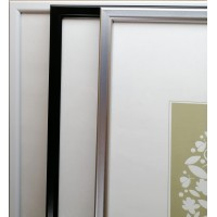 Plastic photo frame 40x50, 30x40, 35x35